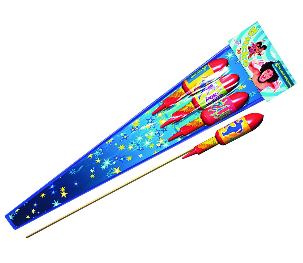 Фейерверк Пиротехника Русский ФейерверкРакеты<br>В серии несколько видов эффектов. В каждой ракете-свой: кольца, звезды с искристыми хвостами. (цена за упаковку )<br>Тип: фейерверк; Вид фейерверка: ракета; Время работы с: 22; Высота разрыва м: 70; Ширина см: 17; Высота см: 105; Глубина см: 5; Вес кг: 0.30;
