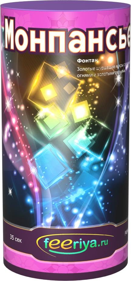 Фейерверк ФеерияФонтаны<br>Золотые шуршащие искры с красными огнями и золотыми перьями.<br>Тип: фейерверк; Вид фейерверка: фонтан; Время работы с: 35; Высота разрыва м: 3; Ширина см: 7; Высота см: 7; Глубина см: 15; Вес кг: 0.30;