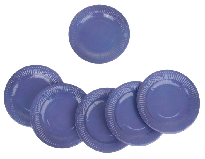 Фейерверк Тарелка круглая, набор 6 шт, 18 см, цвет: сиреневыйПредметы сервировки<br><br>Тип: фейерверк; Вид фейерверка: предмет сервировки; Высота см: 0;