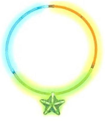 Фейерверк Светящееся Ожерелье с кулоном Звезда мнгцвКарнавальная продукция<br>Светящееся трехцветное ожерелье (зеленый, оранжевый, синий) с зеленым кулоном-звездой в индивидуальной упаковке. Неоновая палочка - это эффектный светящийся аксессуар для любой вечеринки ! Яркое свечение палочки продолжается 6-8 часов , а значит, она будет радовать удивительным световым эффектом на протяжении всего праздника!<br>Тип: фейерверк; Вид фейерверка: карнавальная продукция; Высота см: 0;