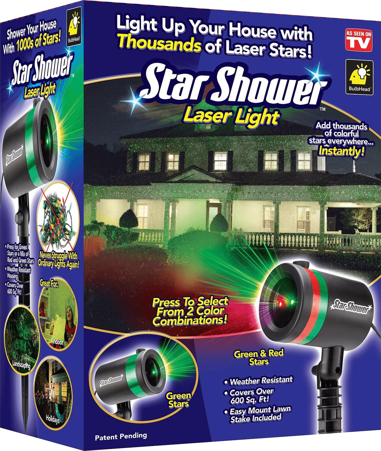 Фото #1: Фейерверк Проектор лазерный звездный star shower laser light projector